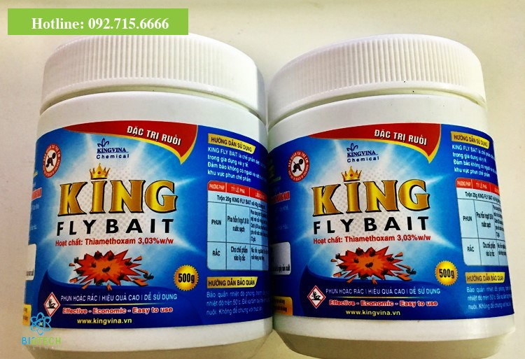 King Fly Bait 500g - bả ruồi